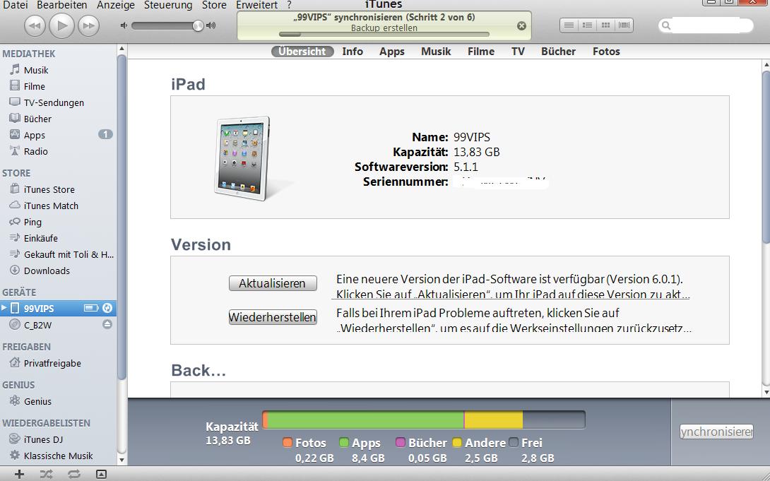 iTunes konfigurieren