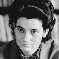 Christa Wolf im Jahre 1963. Foto: Irene Eckleben.