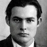 Passbild von Hemingway aus dem Jahr 1923