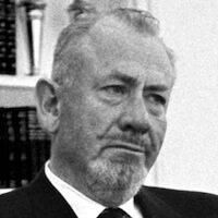 Der US-amerikanische Schriftsteller John Steinbeck im Jahr 1966