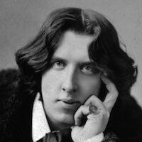 Der Schriftsteller und Dichter Oscar Wilde