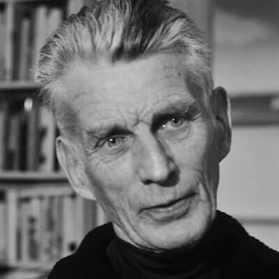 Samuel Beckett (Foto von 1977). Quelle: Bibliothèque nationale de France
